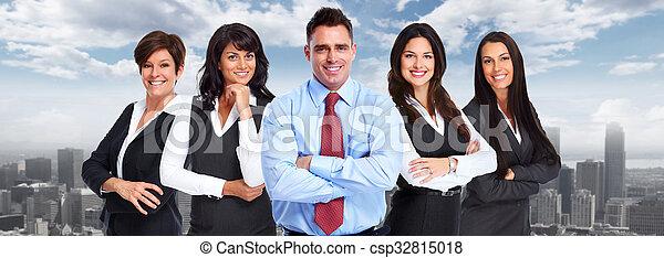 人々。, グループ, ビジネス - csp32815018