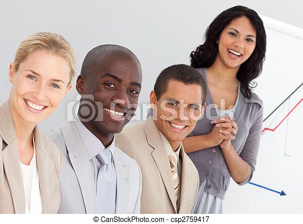 人々, グループ, ビジネス, 若い - csp2759417