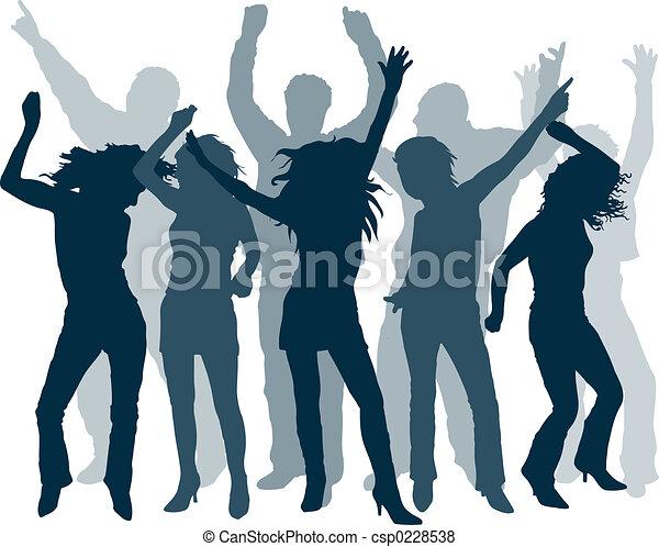 人々, ダンス - csp0228538