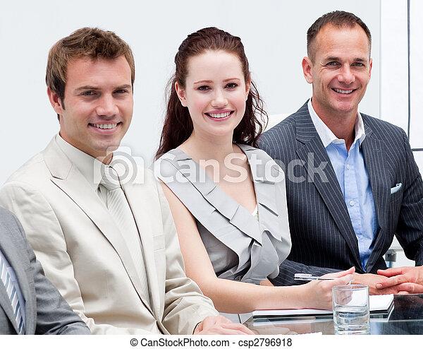 人々, 肖像画, ビジネスが会合する, モデル - csp2796918