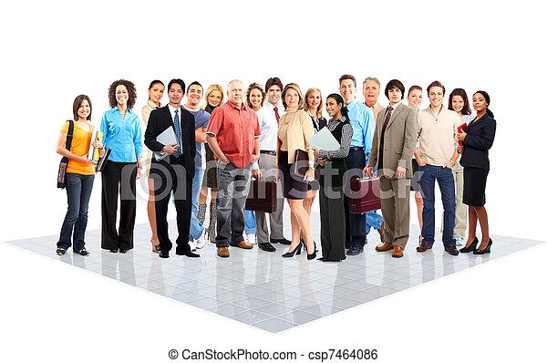 人们。, 商业 - csp7464086