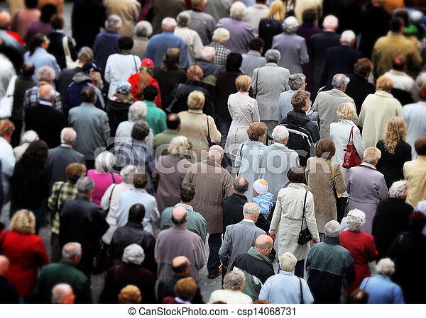 人群, 人們 - csp14068731