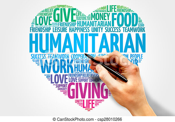 人道主義者 - csp28010266