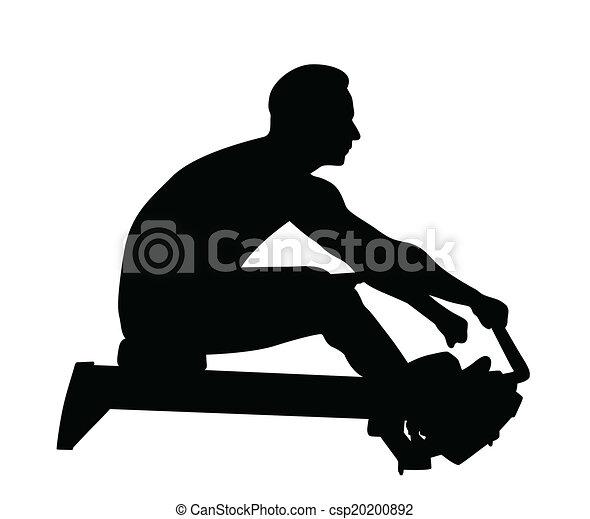 人, から, 仕事, フィットネス - csp20200892