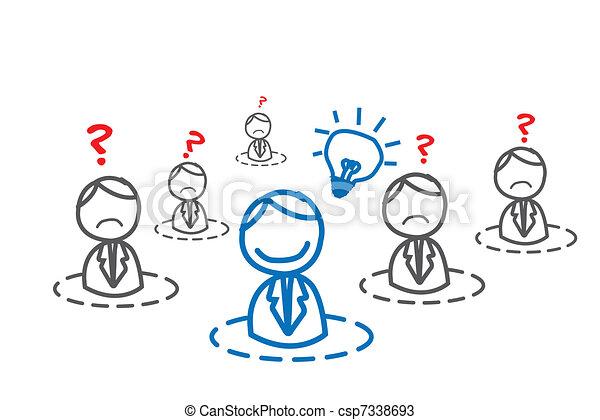 人, ネットワーク, ビジネス考え - csp7338693