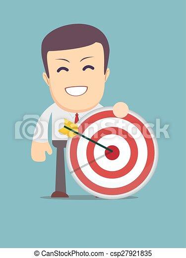 人, 目標, 箭, 藏品 - csp27921835