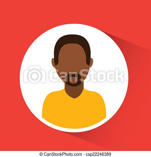 人, avatar, デザイン - csp22246389