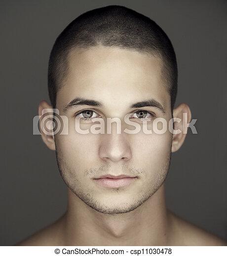 人` s, 年轻, 脸 - csp11030478