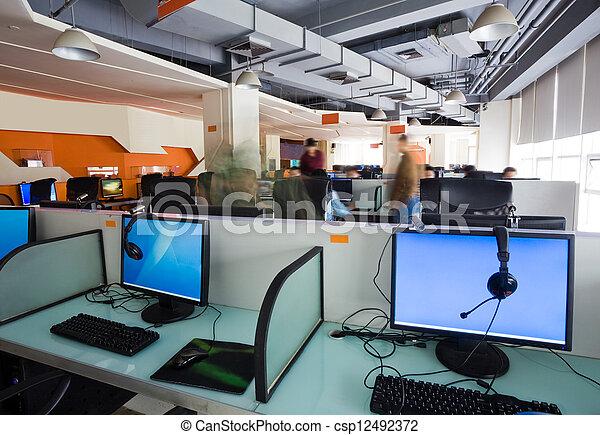 仕事場, オフィス - csp12492372