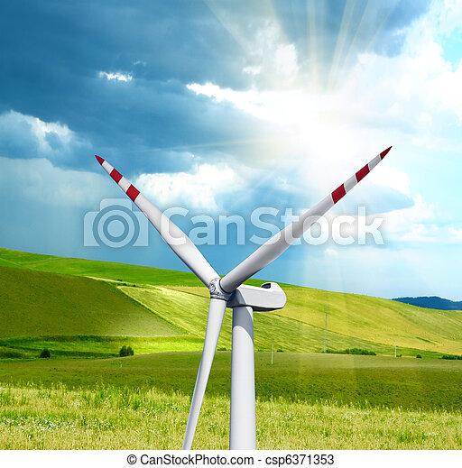 代替エネルギー - csp6371353