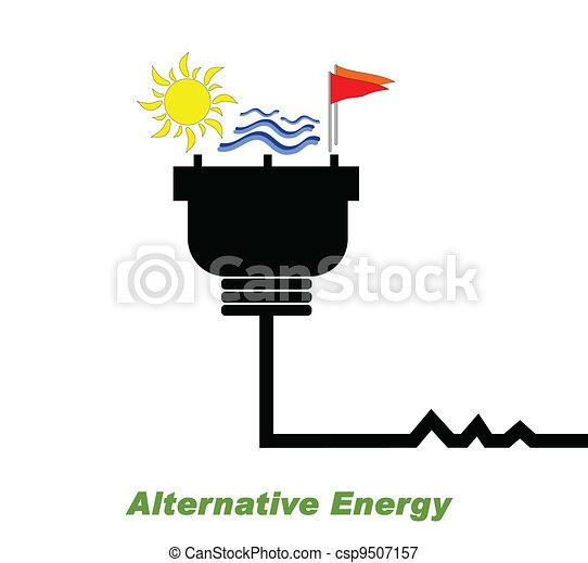 代替エネルギー - csp9507157