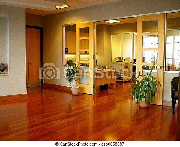 企業のオフィス - csp0058687