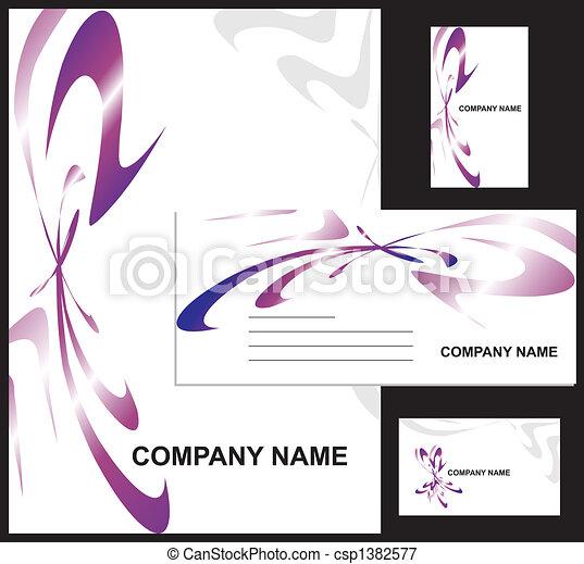 企業のデザイン, アイデンティティー - csp1382577