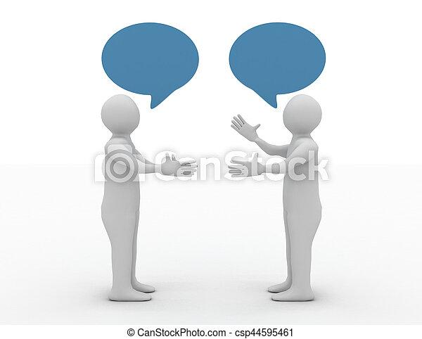 会話, 概念, 2, 人を配置する - csp44595461
