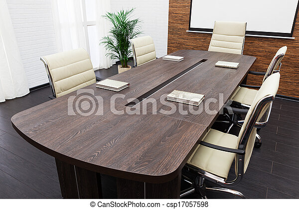 会議テーブル - csp17057598
