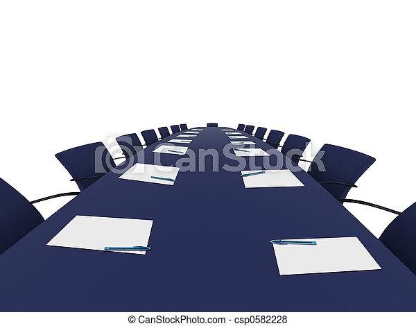 会議テーブル - csp0582228