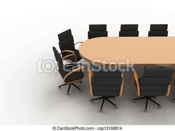 会議テーブル - csp13169814