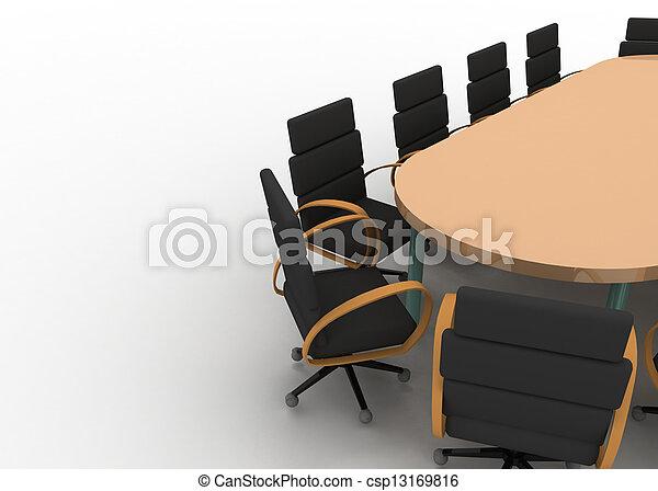 会議テーブル - csp13169816