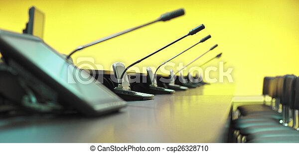 会議テーブル - csp26328710