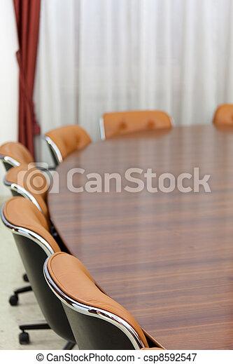 会議テーブル - csp8592547