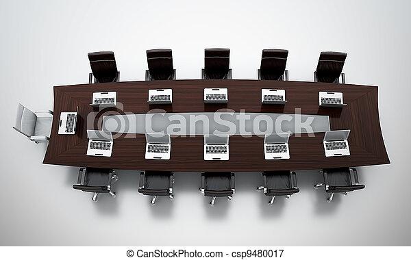 会議テーブル - csp9480017