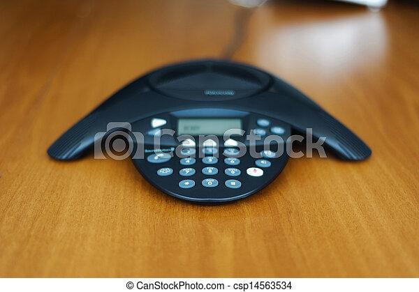 会議電話, ビジネス - csp14563534