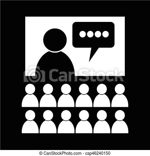 会議, アイコン - csp46240150