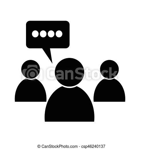 会議, アイコン - csp46240137