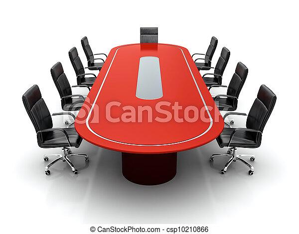 会議, テーブル。 - csp10210866