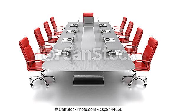 会議, テーブル。 - csp9444666