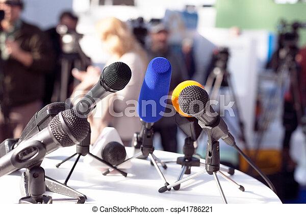 会議, ニュース - csp41786221