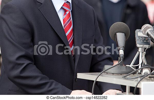 会議, ニュース - csp14822282