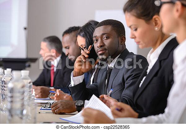 会議, ビジネス - csp22528365