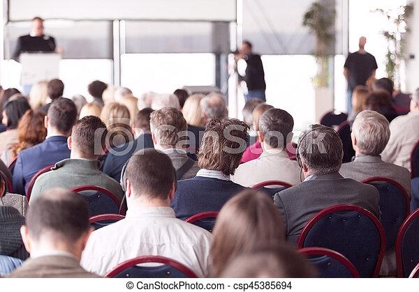 会議, ビジネス - csp45385694