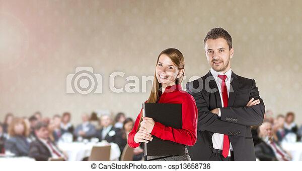 会議, ビジネス - csp13658736