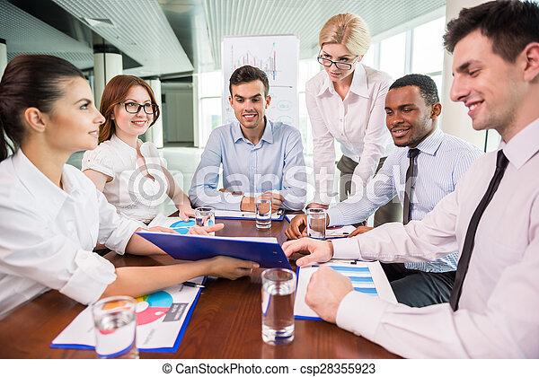 会議, ビジネス - csp28355923