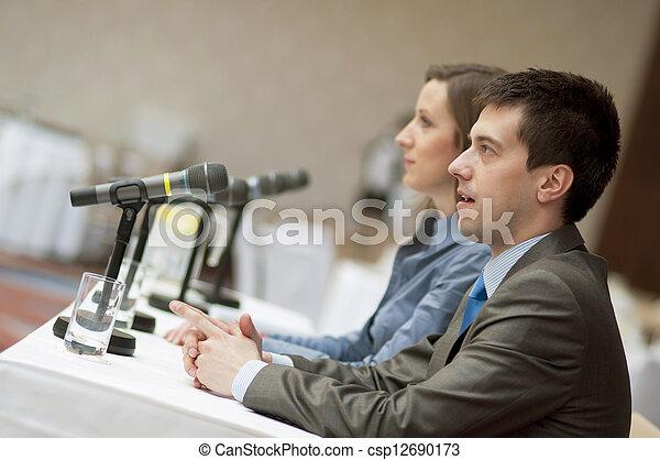 会議, ビジネス - csp12690173