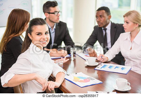 会議, ビジネス - csp28355917