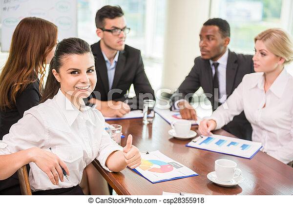 会議, ビジネス - csp28355918