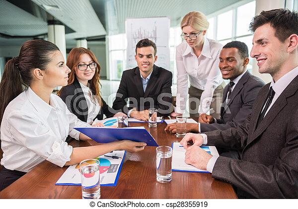 会議, ビジネス - csp28355919