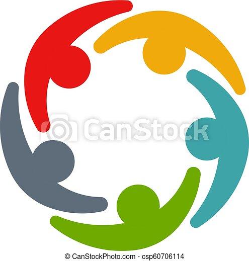 会議, 企業家, circle., ビジネス 人々 - csp60706114