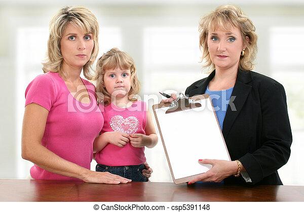 会議, 子供, 教師, 親, meeting. - csp5391148