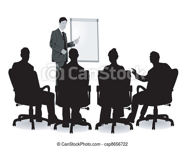会議, 講義 - csp8656722
