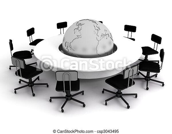 会議, concept., 財政, ビジネス - csp3043495