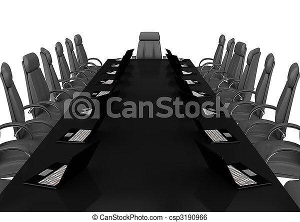 会議, concept., 財政, ビジネス - csp3190966