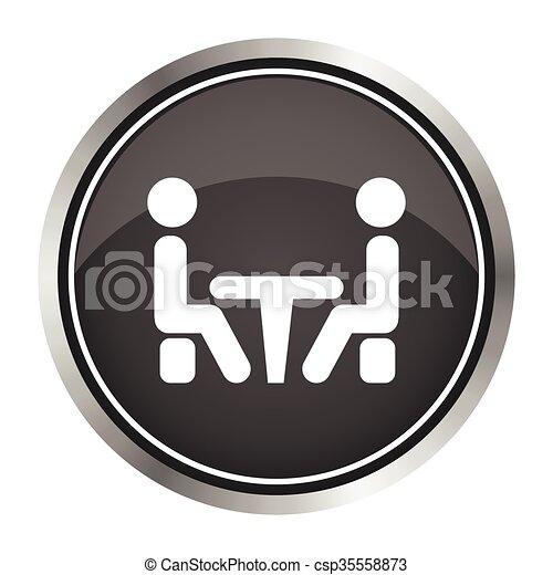 会議, icon. - csp35558873
