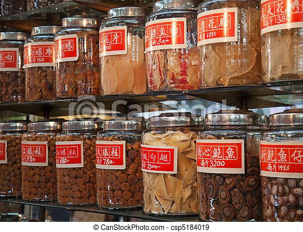 伝統的である, 店, 中国語 - csp5184019