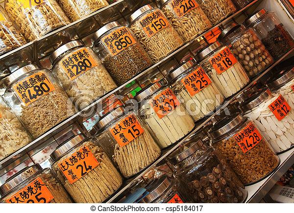 伝統的である, 店, 中国語 - csp5184017