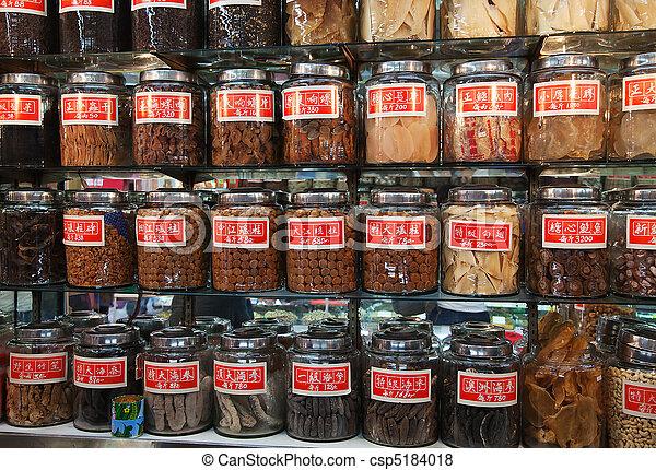 伝統的である, 店, 中国語 - csp5184018