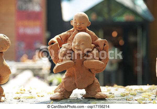 伝統的である, 文化, 南朝鮮 - csp17156214